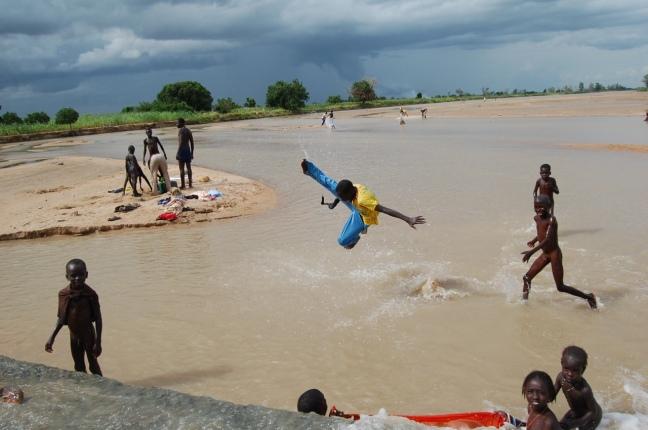 Enfants lac nord cameroun