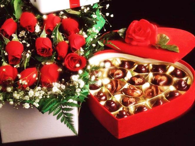 Chocolat fleur