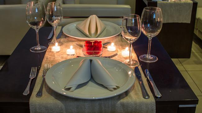 Diner saint valentin